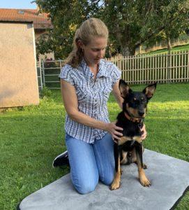 chien ostéopathie à domicile